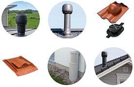 Vilpe tetőátvezetési és szellőztető rendszer
