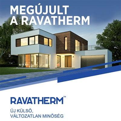 RAVATHERM - megújult arculat és termékpaletta