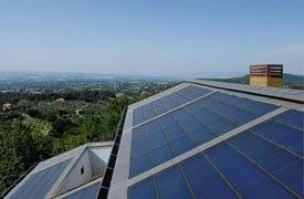 Tegosolar energiatermelő zsindely