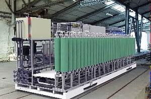 PURE-RO/LTC kommunális hulladéklerakók csurgalékvizének kezelésére