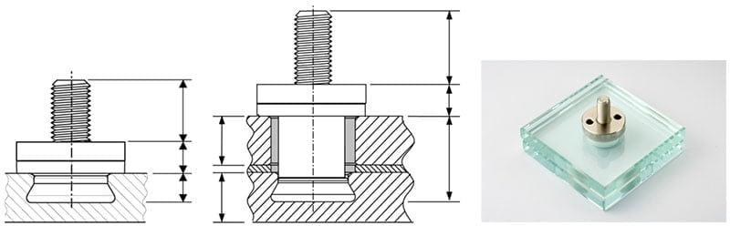 5. Kép: fischer FZP-G pontmegfogás (Forrás: fischer Vállalatcsoport)