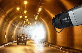 A Bosch AVIOTEC videoalapú tűzérzékelője már az alagutakban is tökéletes megoldás