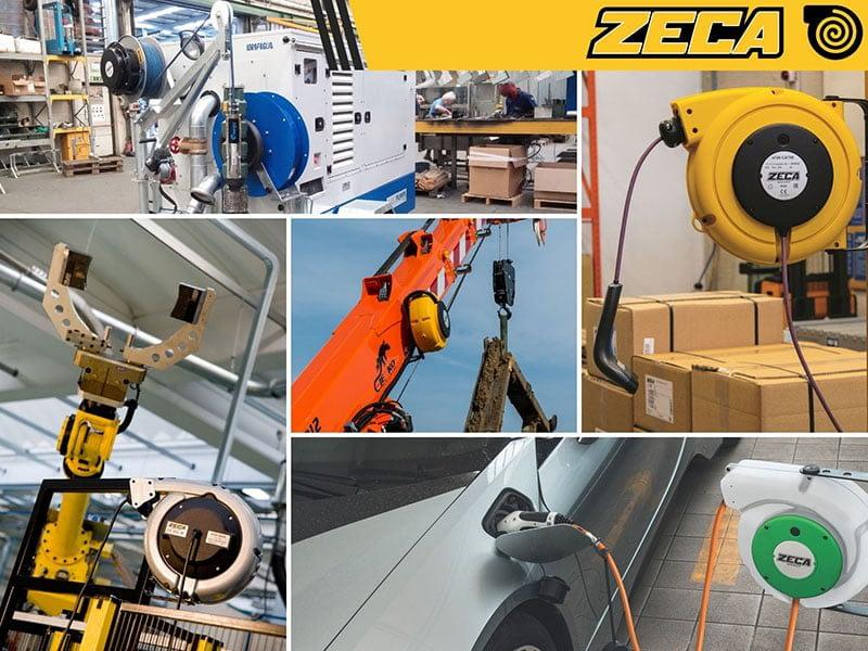 Zeca ipari automata kábeldobok az Enertech Hungária Kft. kínálatában