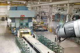 Bosch AVIOTEC videoalapú tűzérzékelés