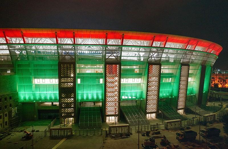 Puskás Ferenc Stadion díszvilágítása