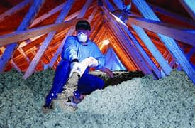 Knauf Insulation fújható ásványgyapot hőszigetelés