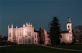 Martonvásári Brunszvik kastély díszvilágítása