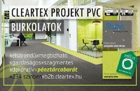 Cleartex PROJEKT PVC burkolatok