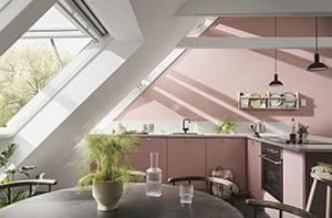 új VELUX INTEGRA® elektromos felnyíló tetőablak