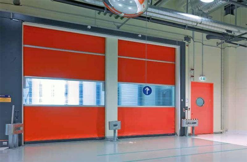 Hörmann ipari kapu - biztonság