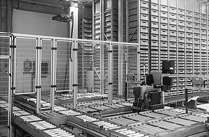 SR-Logistic raktár automatizálás