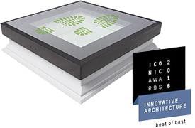 ICONIC AWARDS 2018: Innovatív építészet – a legjobbak legjobbja a FAKRO