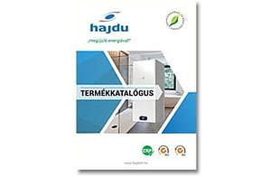 A HAJDU megújult katalógusában az új SMILEY, SMART forróvíztárolók, a HPT hőszivattyús forróvíztárolók és az IND/IDE…F ErP indirekt tárolók