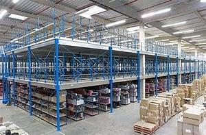 Ipari galéria - SR-Logistic-raktár