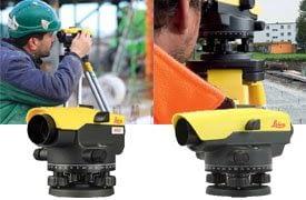 Leica automatikus szintezők
