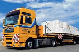 Nehézteher-szállítások