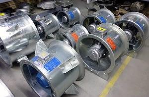 HV füstelszívó ventilátorok