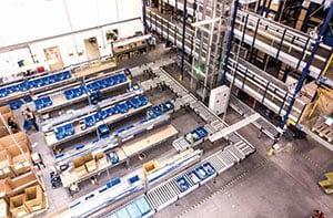 SR-Logistic Láng raktár