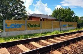 Durisol zajárnyékoló kerítés