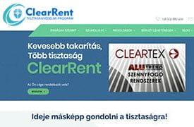 ClearRent tisztaságvédelmi prevenciós szolgáltatási csomag