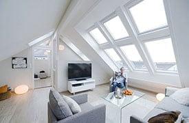 VELUX tetőtéri ablakcsoportok és manzárdablakok