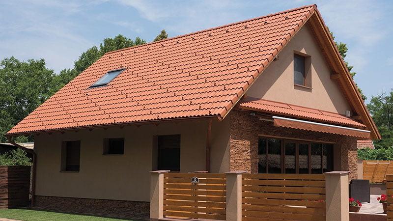 Terrán tető