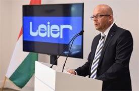 v7 milliárd forint értékű beruházás a Leier üzemeiben