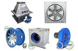 Ipari ventilátorok