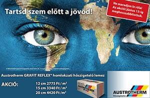Austrotherm GRAFIT REFLEX akció meghosszabbítva