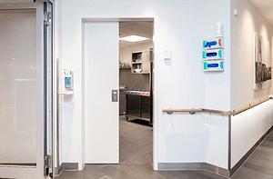 Hörmann Higiénikus ajtók nyilvános épületekhez