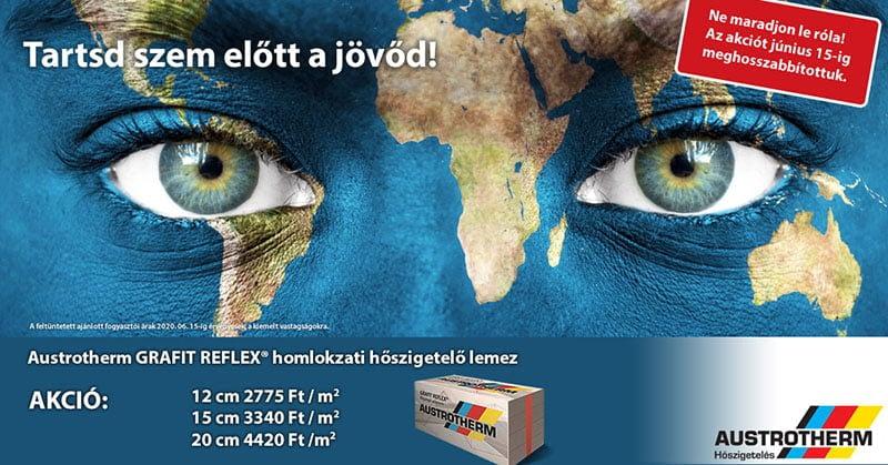 Austrotherm Grafit Reflex Akció